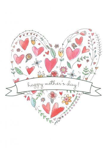 carte pliée 5 x 7 Valentine 8