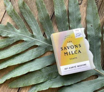 Savon Milca 40% Karité inodore v
