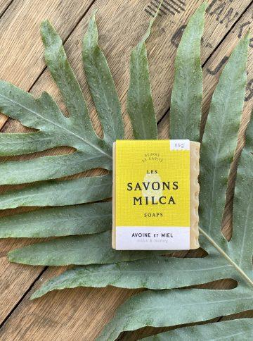 SAVON MILCA Avoine et Miel 115gr