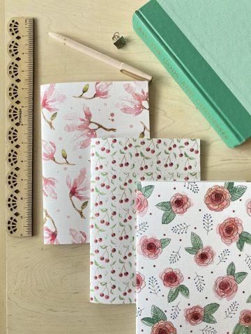 TRIO CAMELIA - cahiers de notes Camelia, Celia et Macha