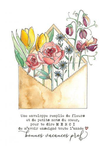 carte 5 x 7 Alphonsine 27
